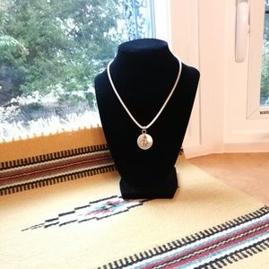 Jewelry - Native American silver necklace, Vintage 1960s